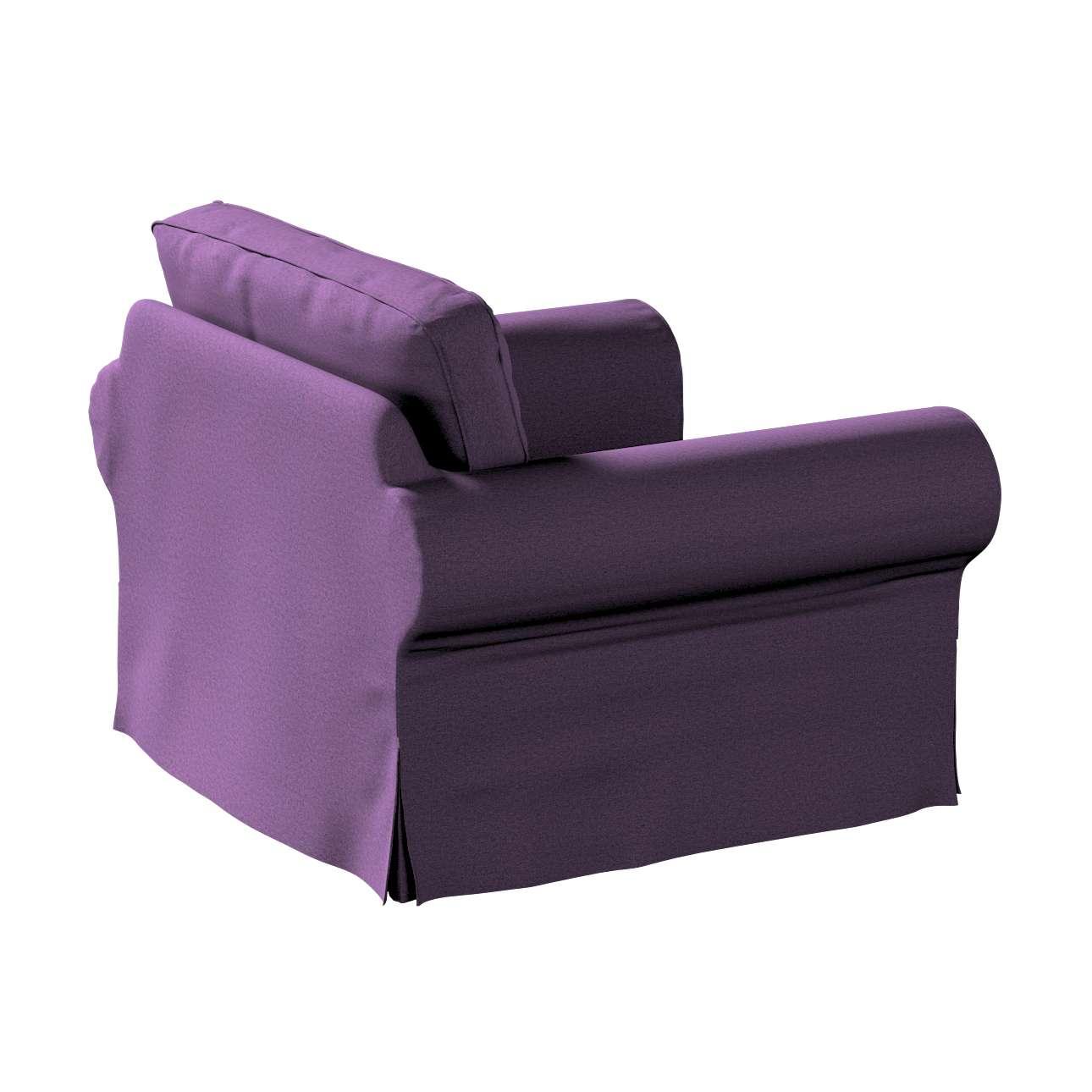 Pokrowiec na fotel Ektorp w kolekcji Etna, tkanina: 161-27