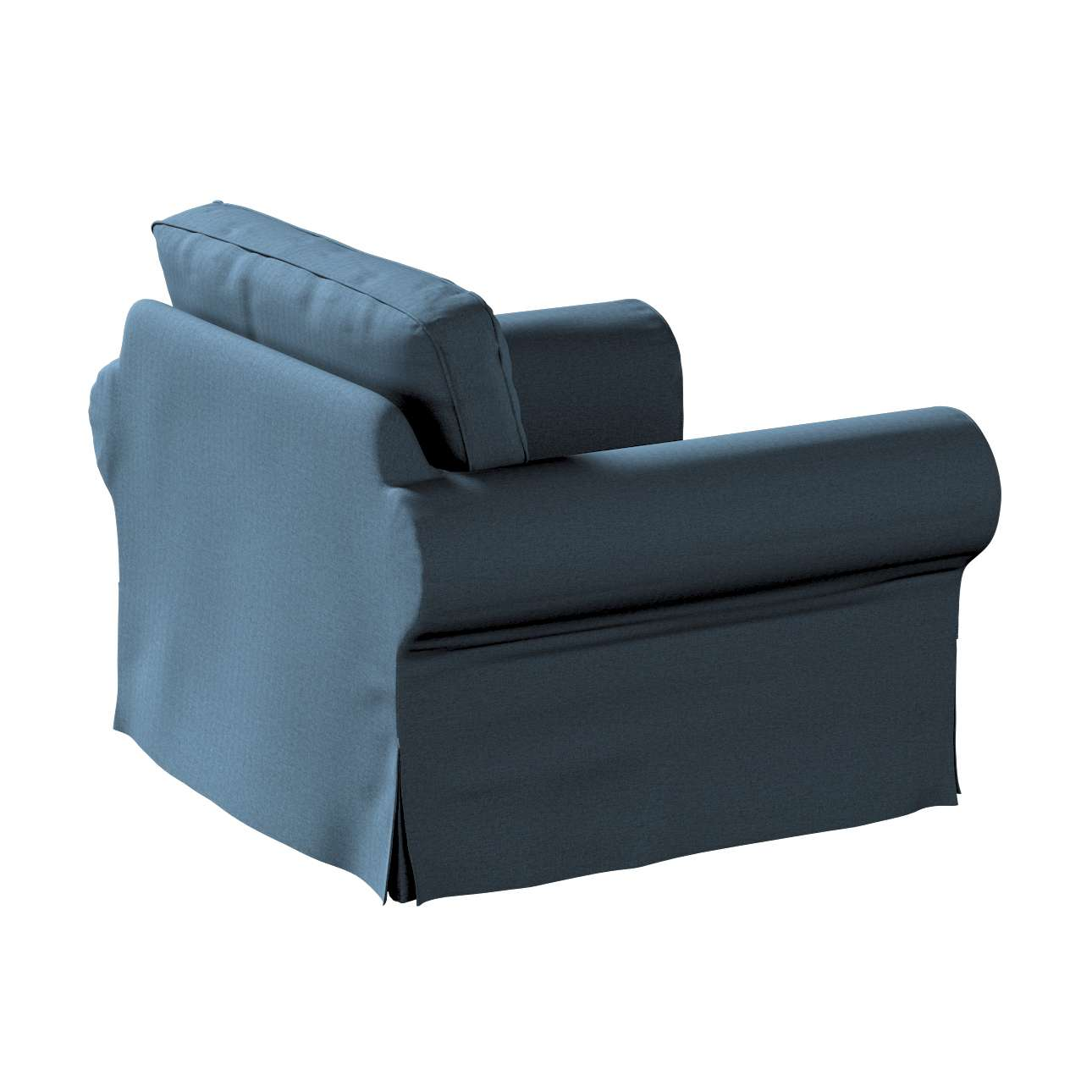Pokrowiec na fotel Ektorp w kolekcji Etna, tkanina: 705-30