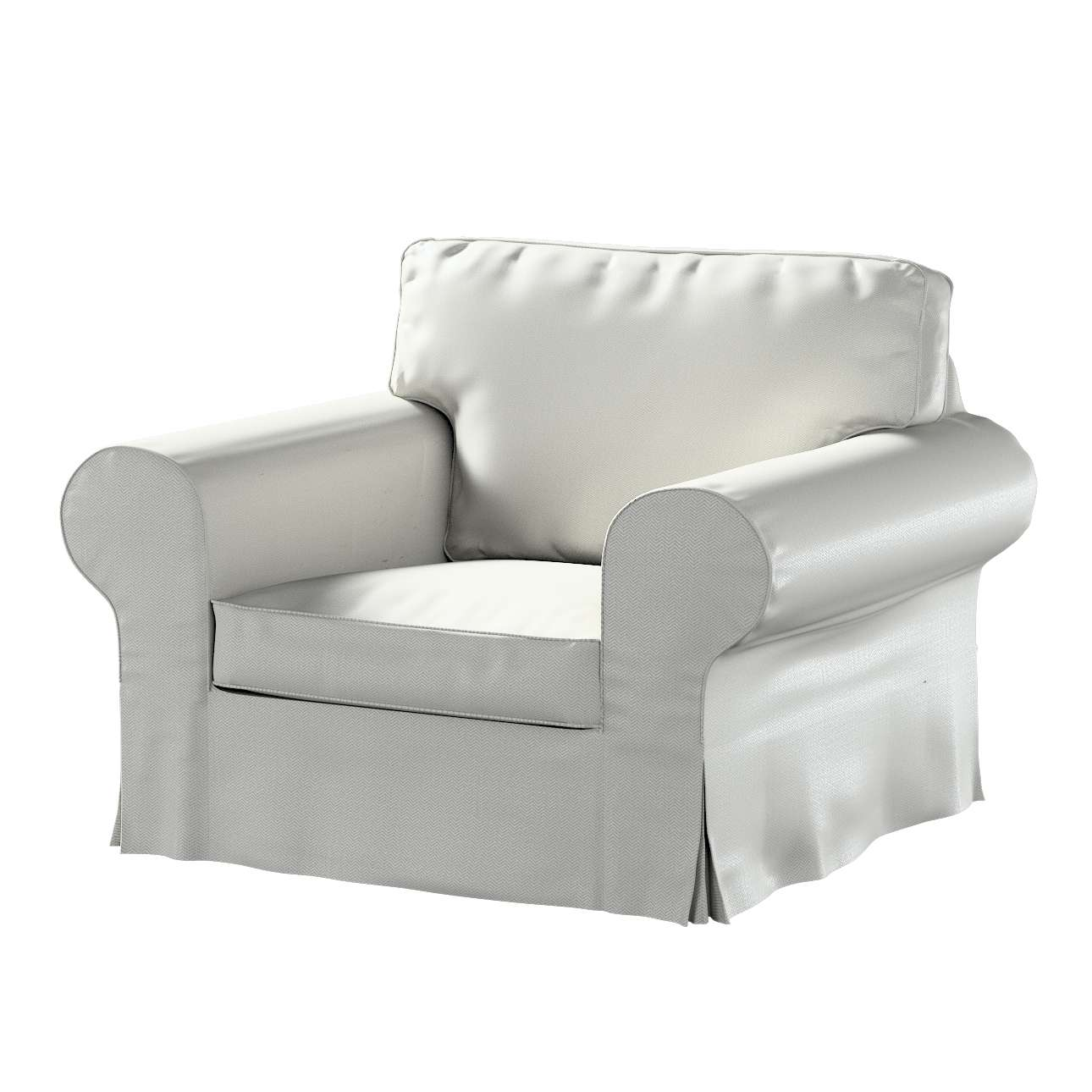 IKEA hoes voor Ektorp fauteuil van de collectie Bergen, Stof: 161-84