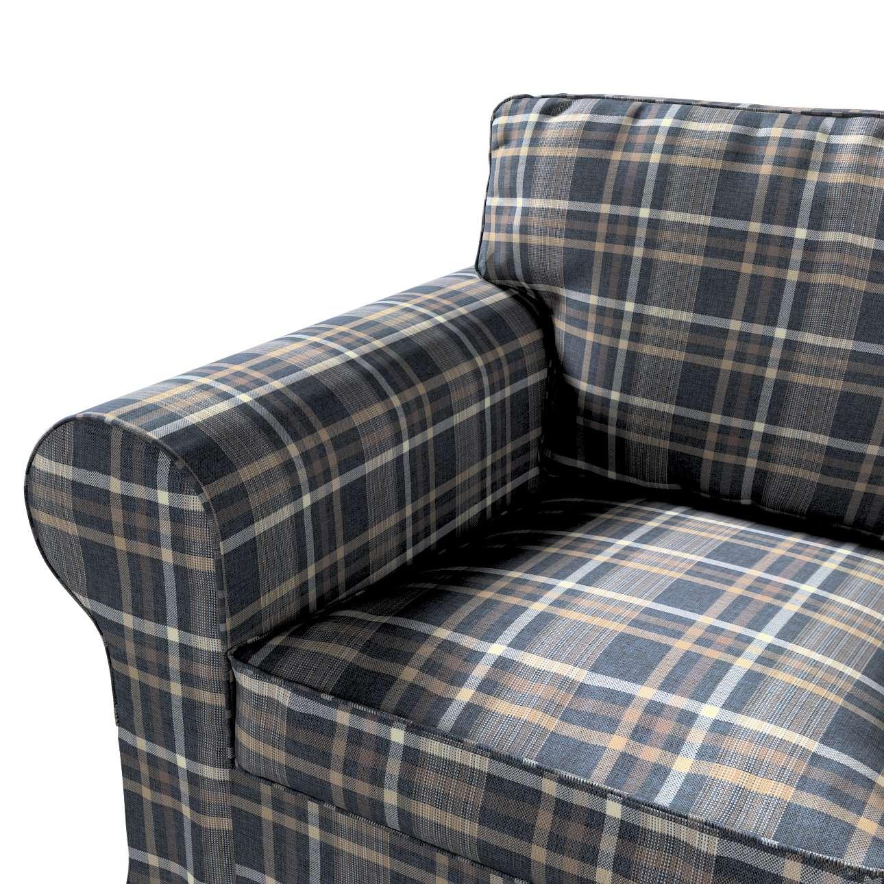 Pokrowiec na fotel Ektorp w kolekcji Edinburgh, tkanina: 703-16