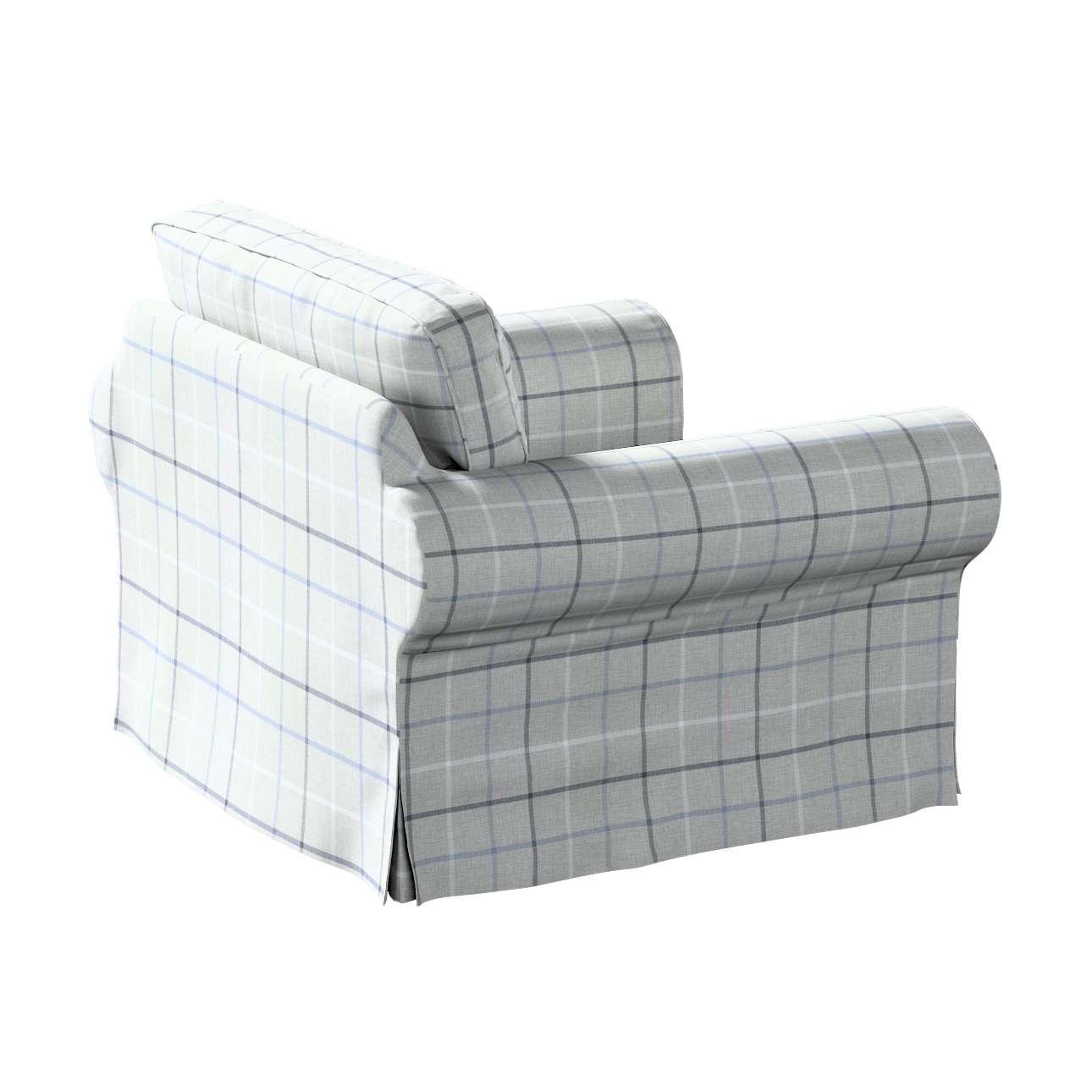 Pokrowiec na fotel Ektorp w kolekcji Edinburgh, tkanina: 703-18