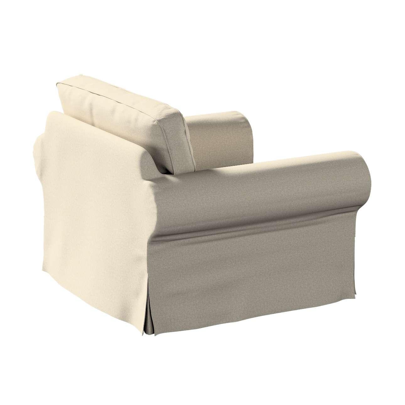 Pokrowiec na fotel Ektorp w kolekcji Amsterdam, tkanina: 704-52