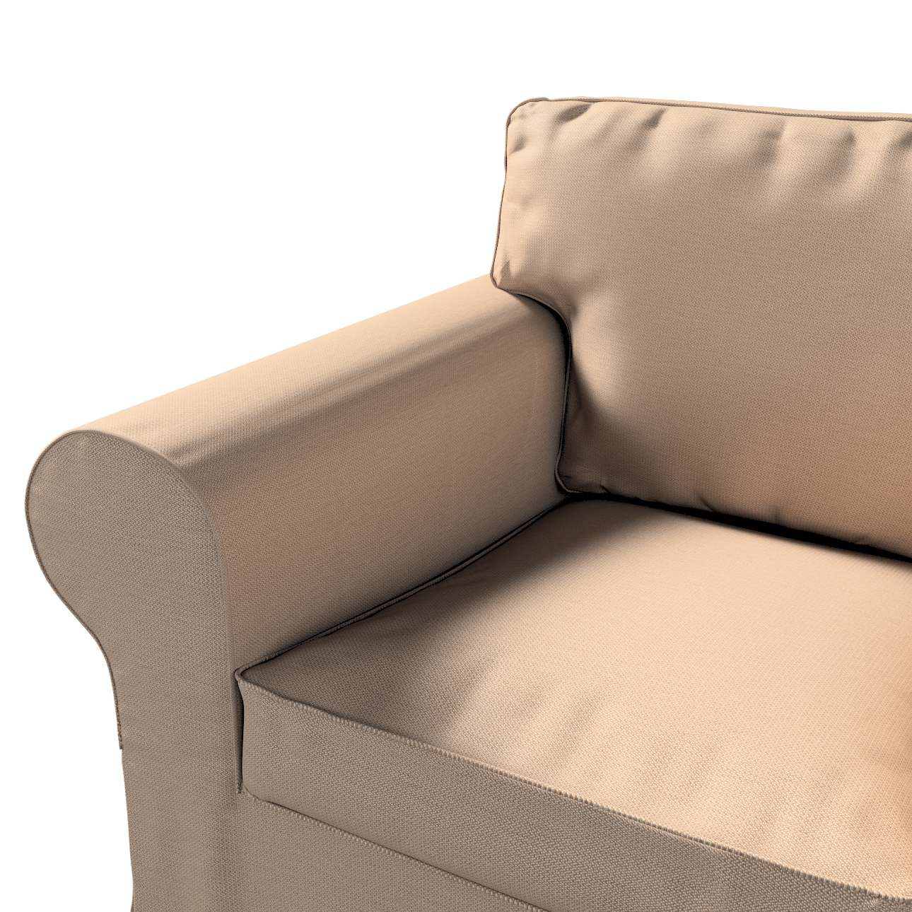 Pokrowiec na fotel Ektorp w kolekcji Bergen, tkanina: 161-75