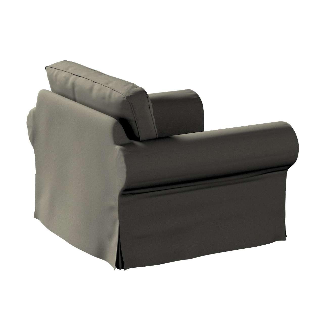 Pokrowiec na fotel Ektorp w kolekcji Living, tkanina: 161-55