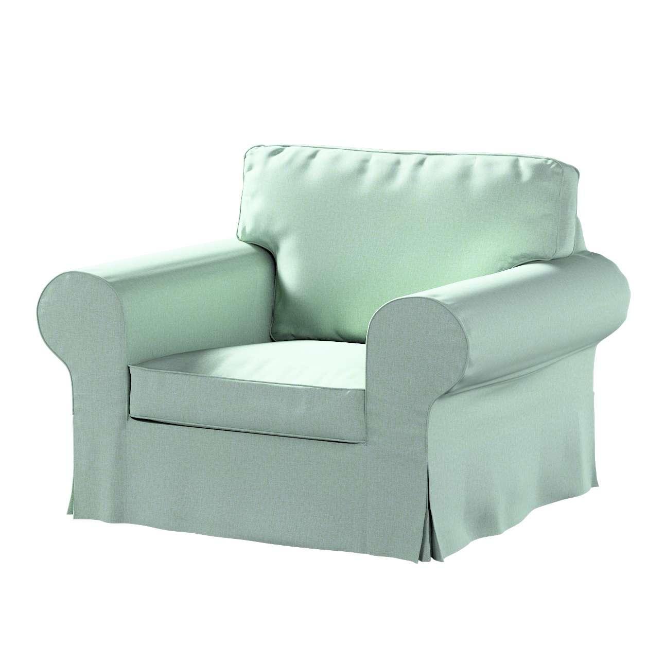Pokrowiec na fotel Ektorp w kolekcji Living, tkanina: 161-61