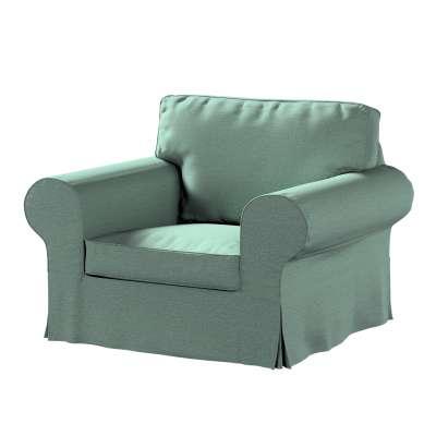 Pokrowiec na fotel Ektorp 161-89 szara mięta melanż Kolekcja Madrid