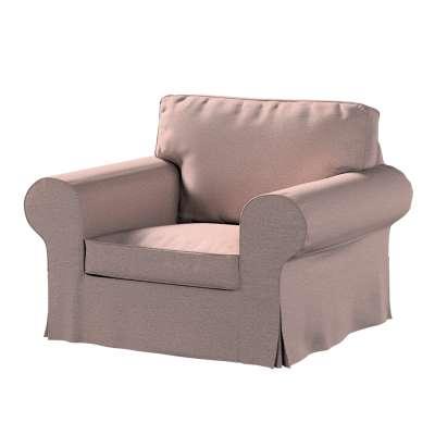 Pokrowiec na fotel Ektorp 161-88 szaro - różowy melanż Kolekcja Madrid