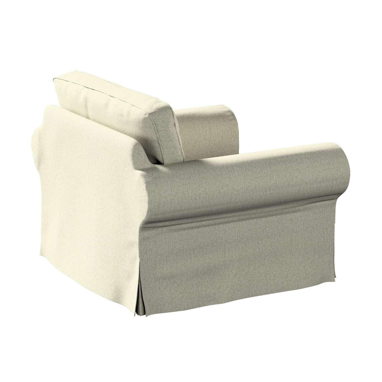 Pokrowiec na fotel Ektorp w kolekcji Living, tkanina: 161-62