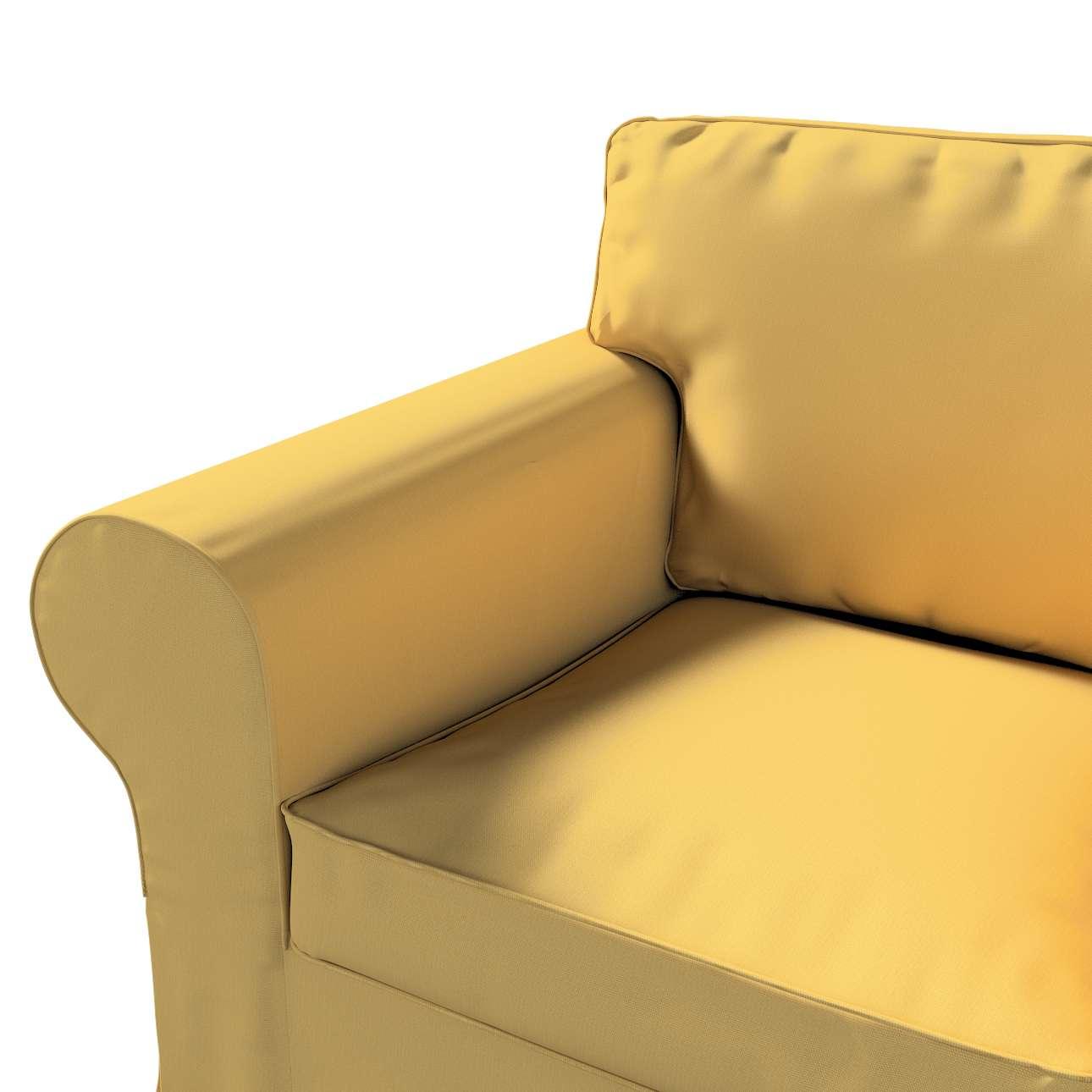 Pokrowiec na fotel Ektorp w kolekcji Cotton Panama, tkanina: 702-41