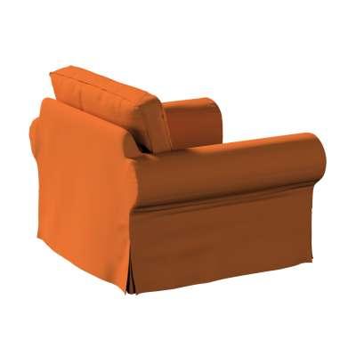 Pokrowiec na fotel Ektorp w kolekcji Cotton Panama, tkanina: 702-42