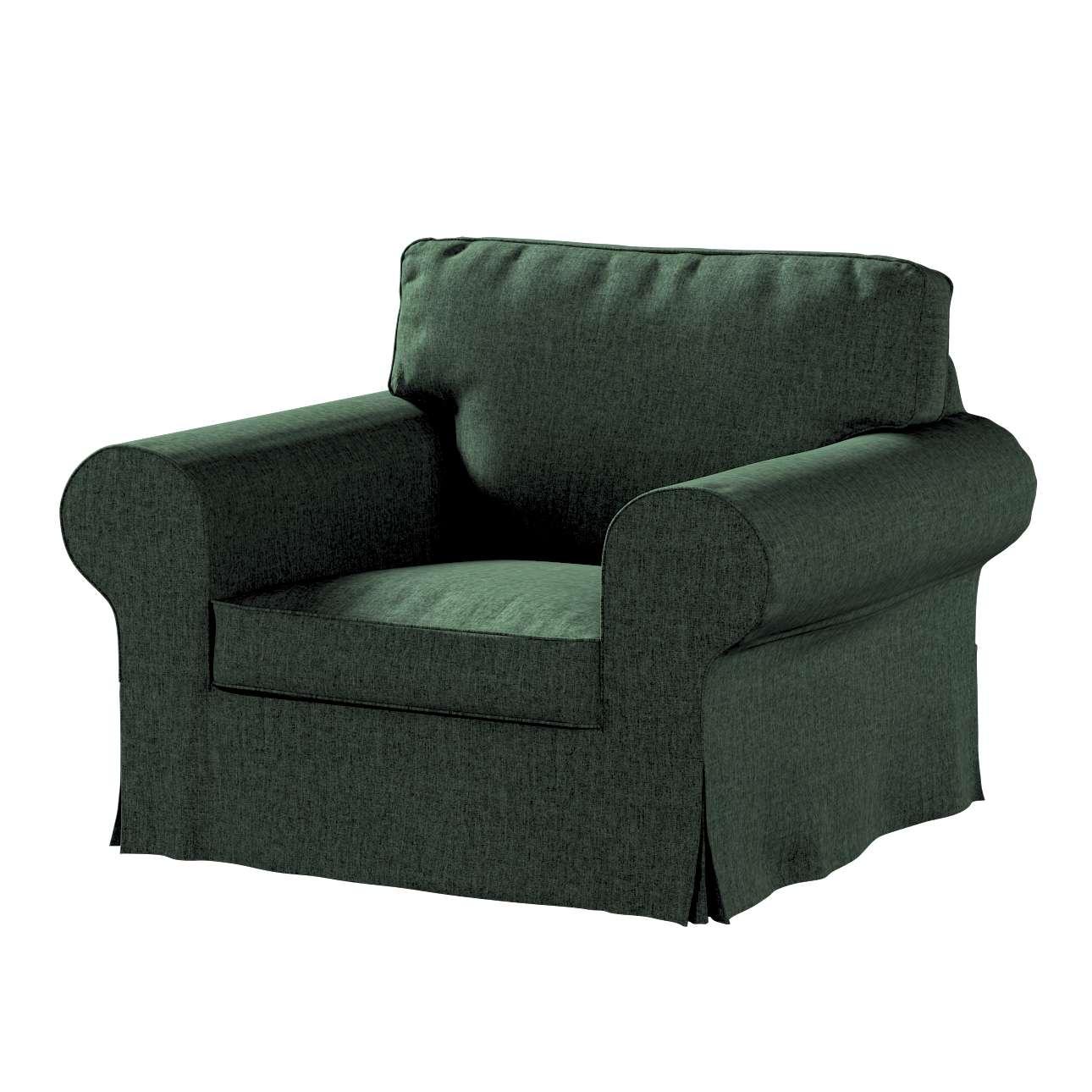 Pokrowiec na fotel Ektorp w kolekcji City, tkanina: 704-81