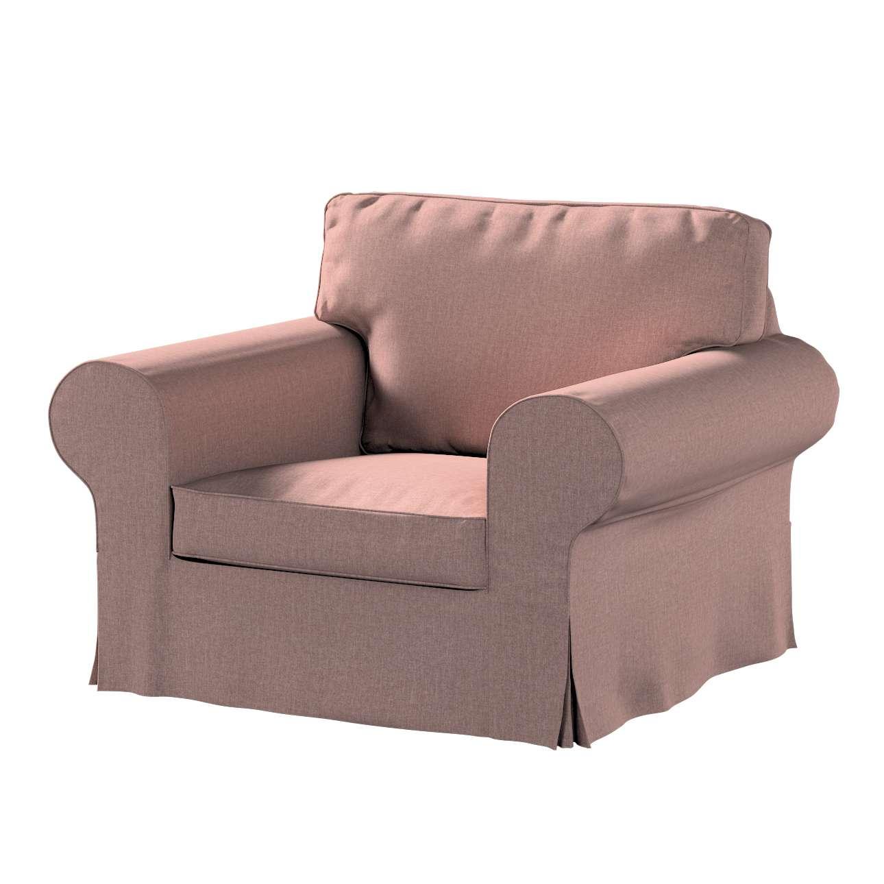 Pokrowiec na fotel Ektorp w kolekcji City, tkanina: 704-83
