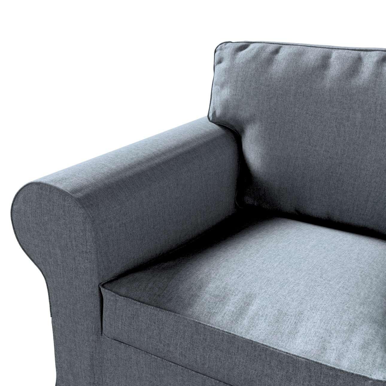 Pokrowiec na fotel Ektorp w kolekcji City, tkanina: 704-86