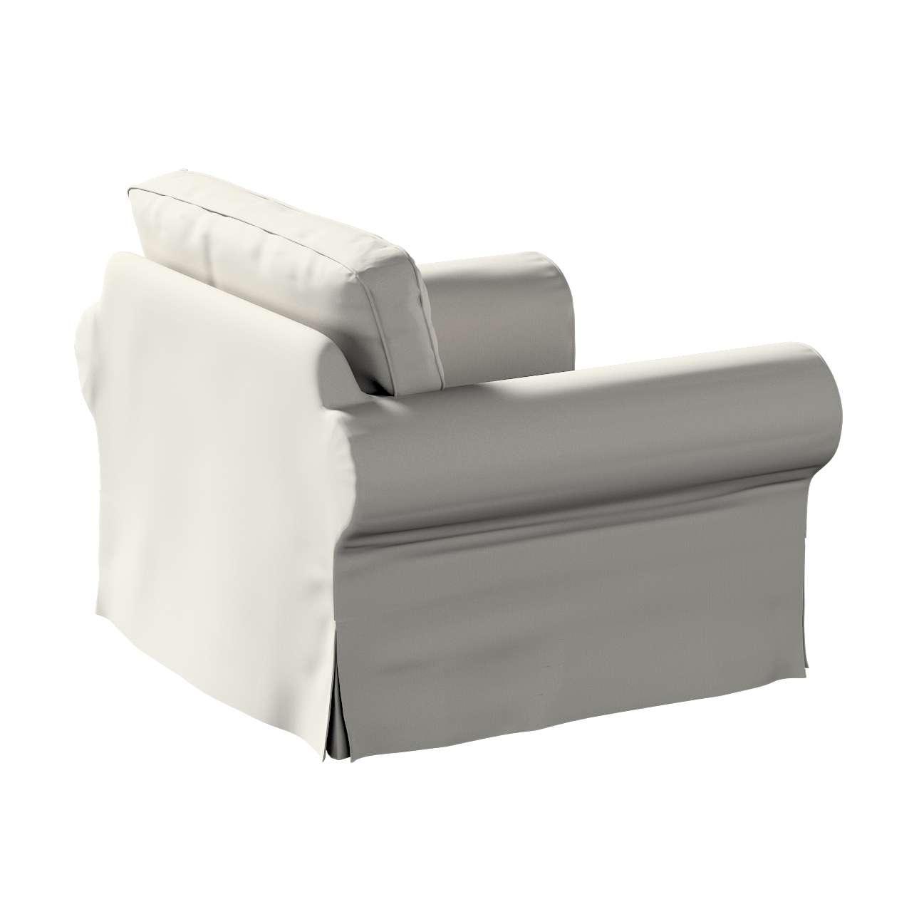 Pokrowiec na fotel Ektorp w kolekcji Living, tkanina: 161-54