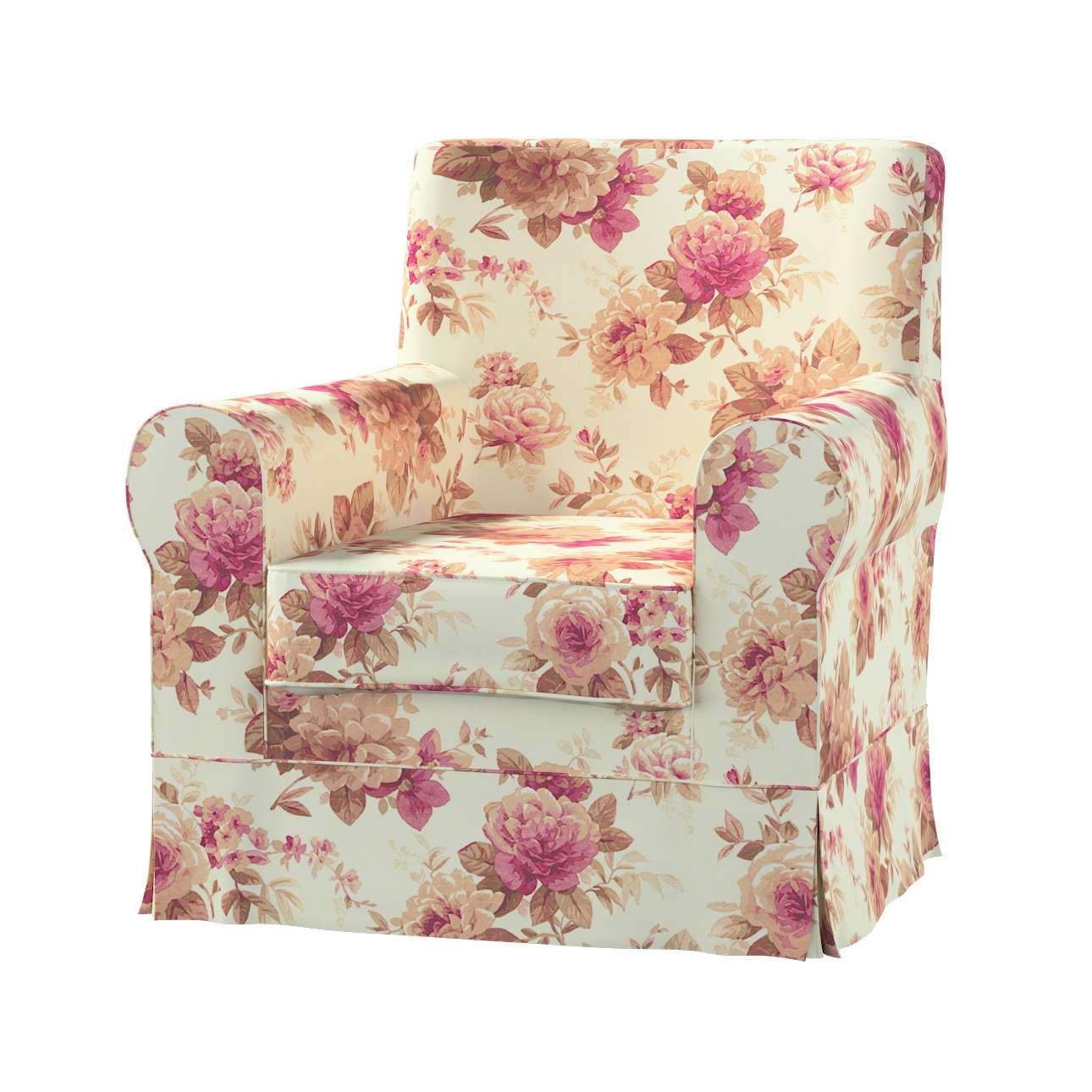 Pokrowiec na fotel Ektorp Jennylund Fotel Ektorp Jennylund w kolekcji Mirella, tkanina: 141-06
