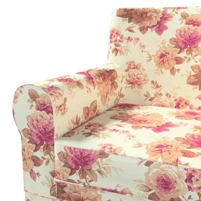 Pokrowiec na fotel Ektorp Jennylund w kolekcji Londres, tkanina: 141-06