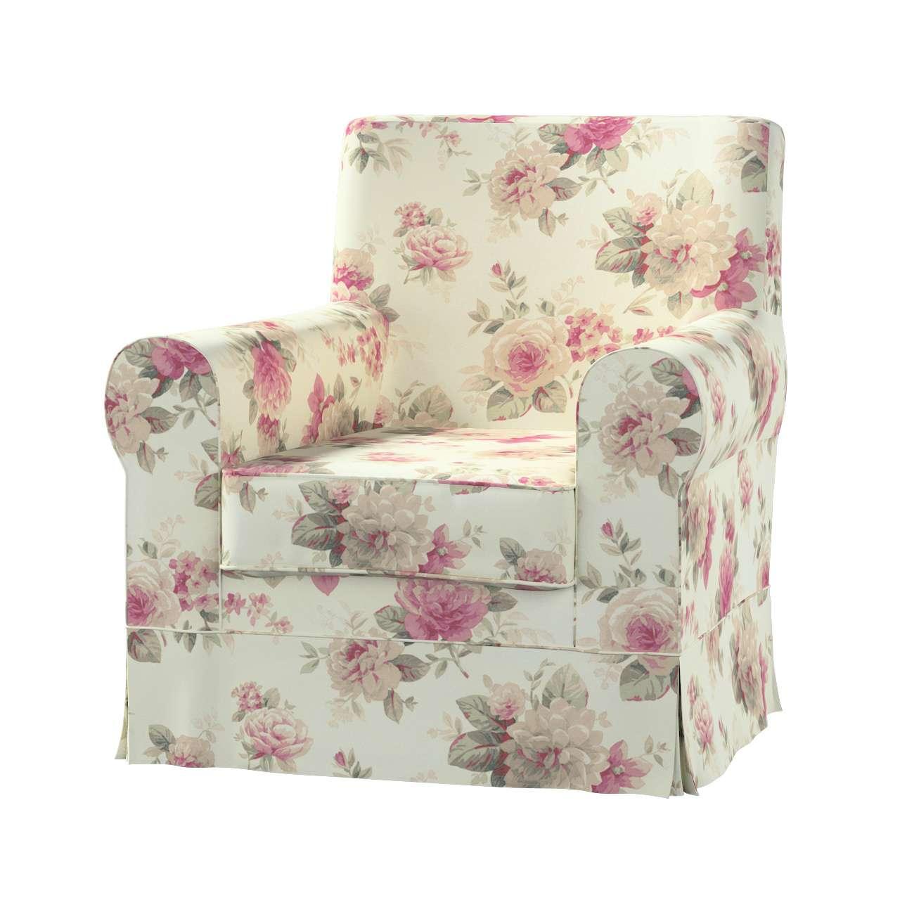 Pokrowiec na fotel Ektorp Jennylund w kolekcji Mirella, tkanina: 141-07