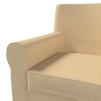 Pokrowiec na fotel Ektorp Jennylund w kolekcji Cotton Panama, tkanina: 702-01