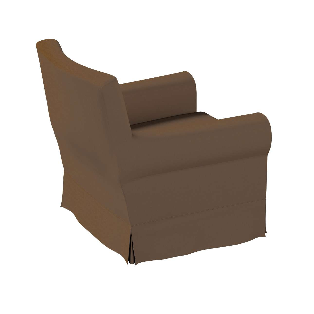 Pokrowiec na fotel Ektorp Jennylund w kolekcji Cotton Panama, tkanina: 702-02