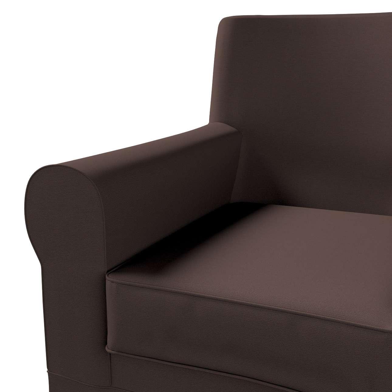 Pokrowiec na fotel Ektorp Jennylund w kolekcji Cotton Panama, tkanina: 702-03