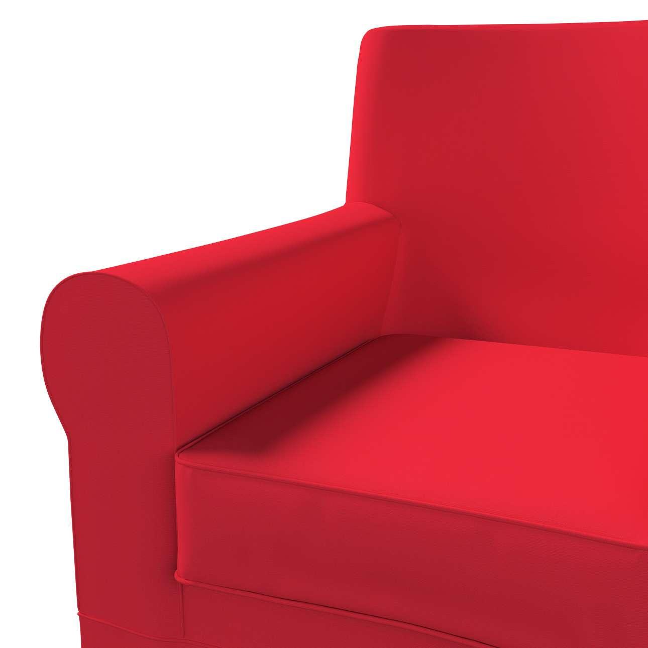 Pokrowiec na fotel Ektorp Jennylund w kolekcji Cotton Panama, tkanina: 702-04