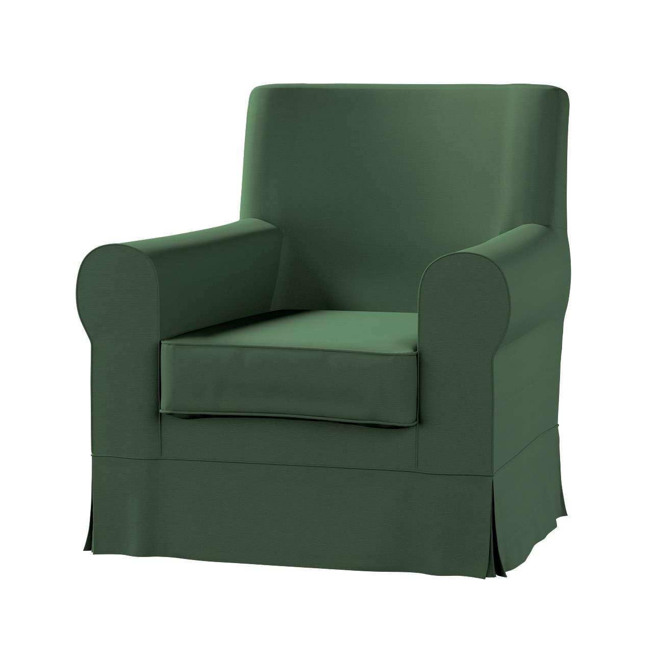 Pokrowiec na fotel Ektorp Jennylund w kolekcji Cotton Panama, tkanina: 702-06