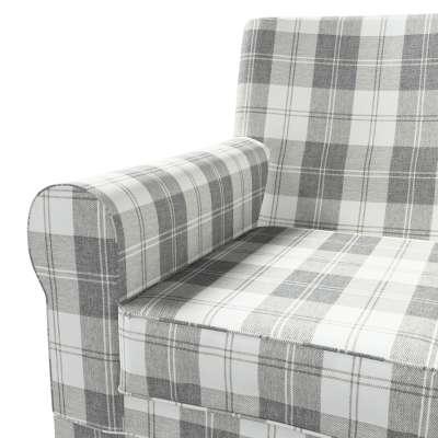 Pokrowiec na fotel Ektorp Jennylund w kolekcji Edinburgh, tkanina: 115-79