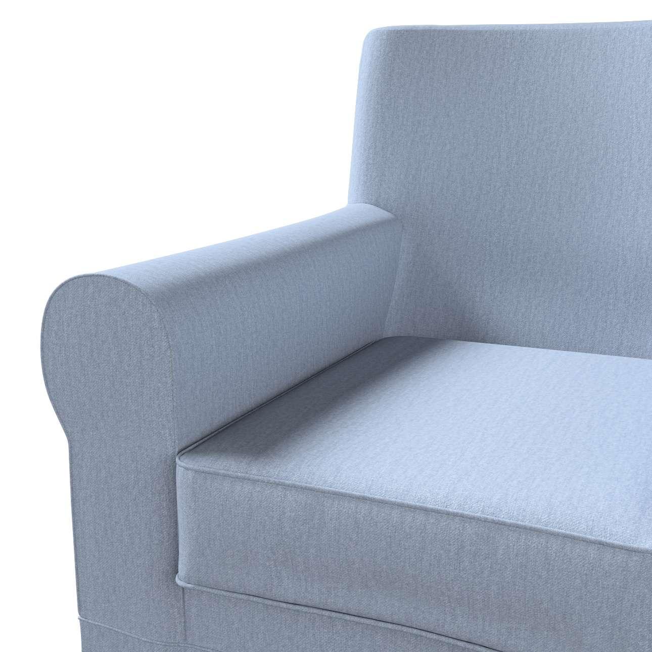 Pokrowiec na fotel Ektorp Jennylund w kolekcji Chenille, tkanina: 702-13