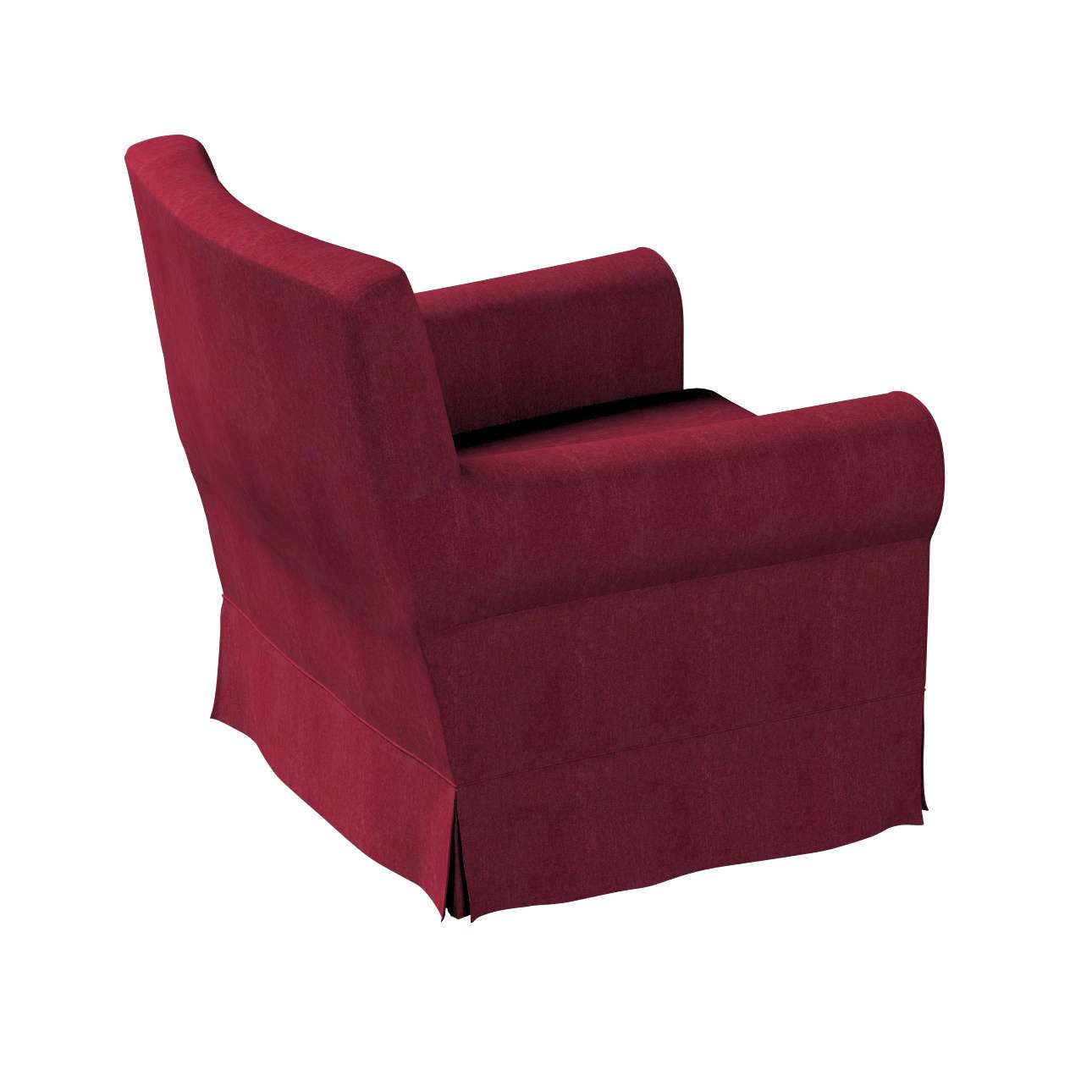 Pokrowiec na fotel Ektorp Jennylund w kolekcji Chenille, tkanina: 702-19