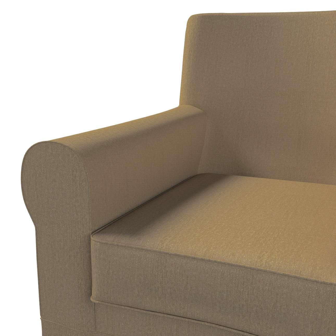 Pokrowiec na fotel Ektorp Jennylund w kolekcji Chenille, tkanina: 702-21