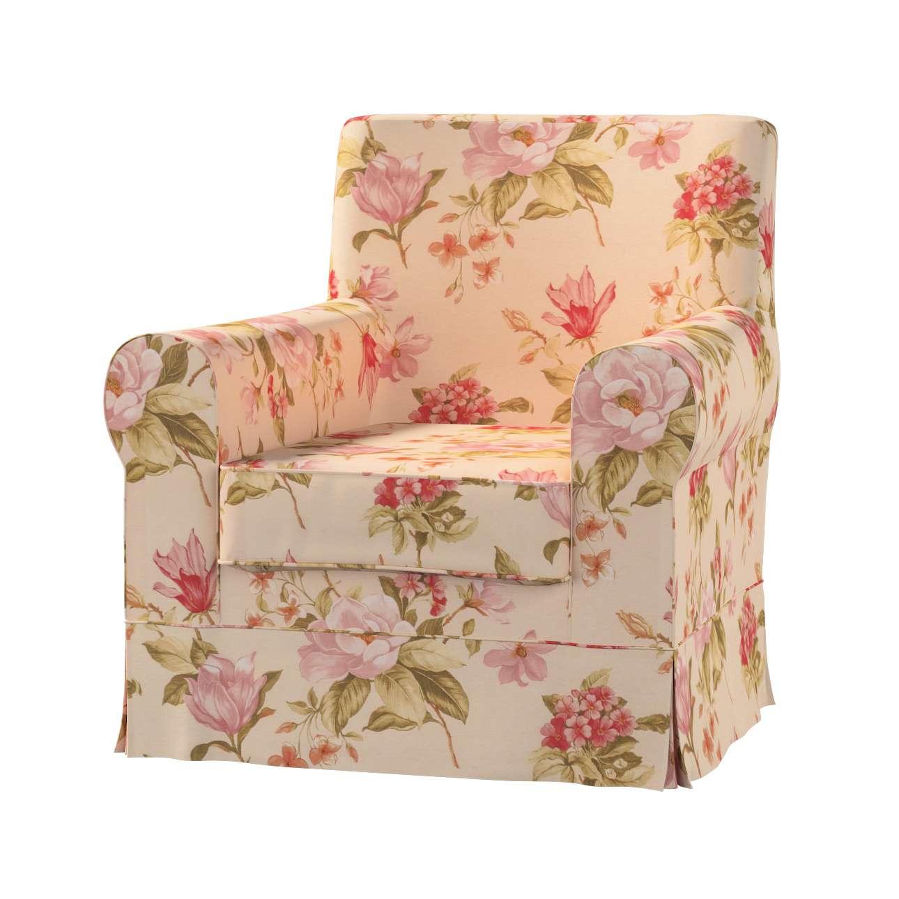 Pokrowiec na fotel Ektorp Jennylund Fotel Ektorp Jennylund w kolekcji Londres, tkanina: 123-05