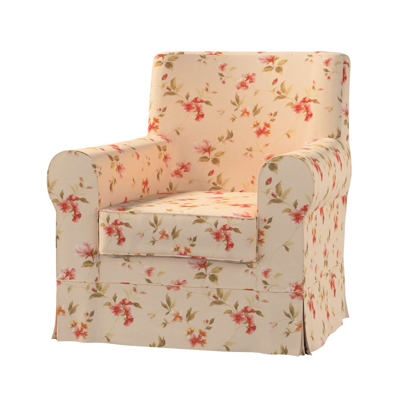 Ektorp Jennylund Sesselbezug Sesselhusse, Ektorp Jennylund von der Kollektion Londres, Stoff: 124-05