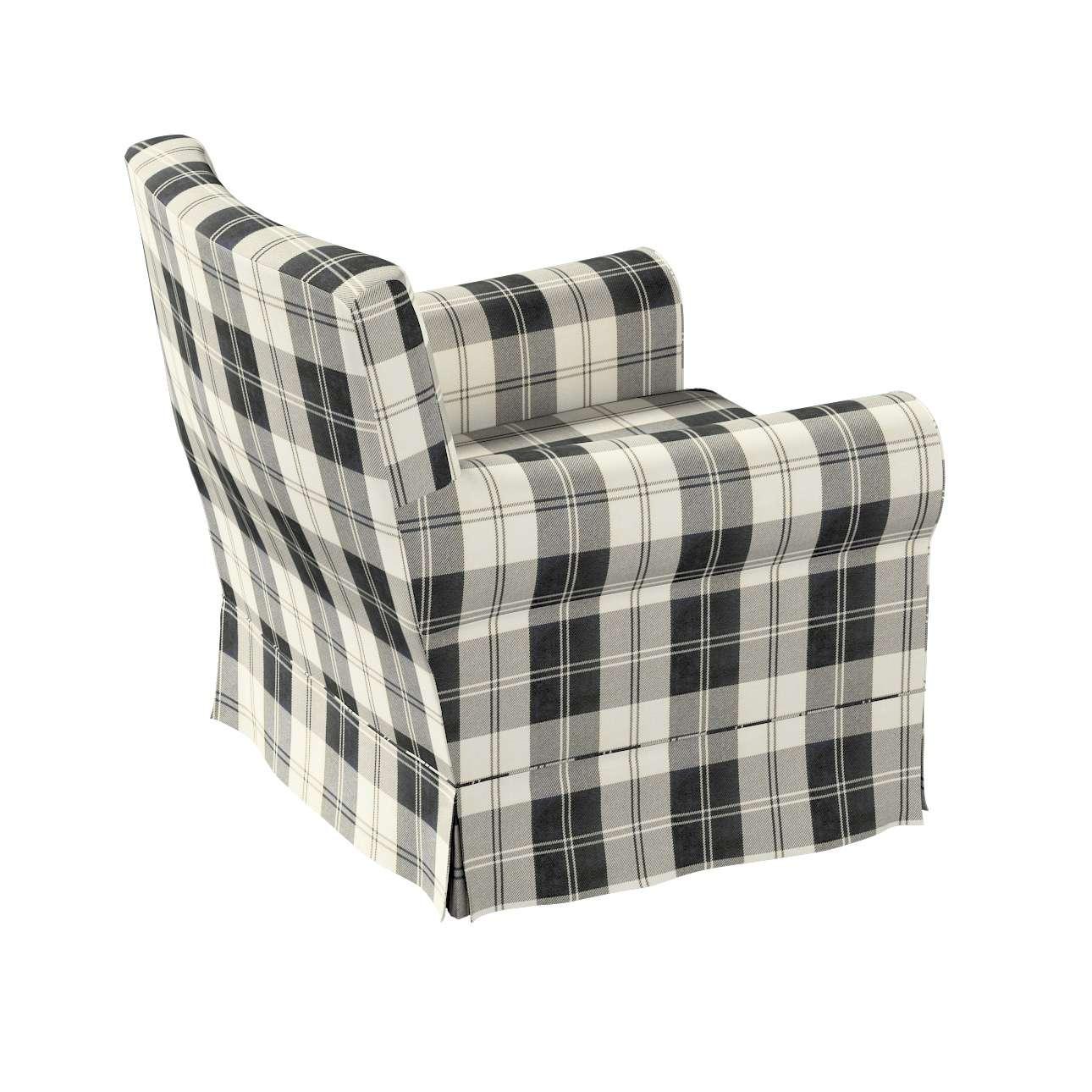 Pokrowiec na fotel Ektorp Jennylund w kolekcji Edinburgh, tkanina: 115-74