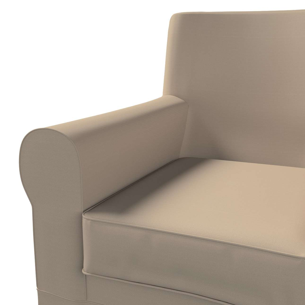 Pokrowiec na fotel Ektorp Jennylund w kolekcji Cotton Panama, tkanina: 702-28