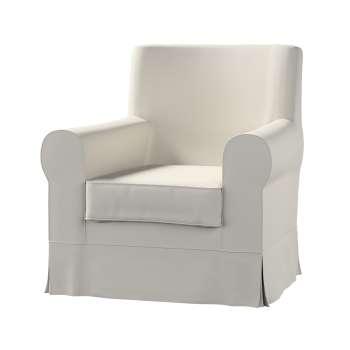Pokrowiec na fotel Ektorp Jennylund w kolekcji Cotton Panama, tkanina: 702-31