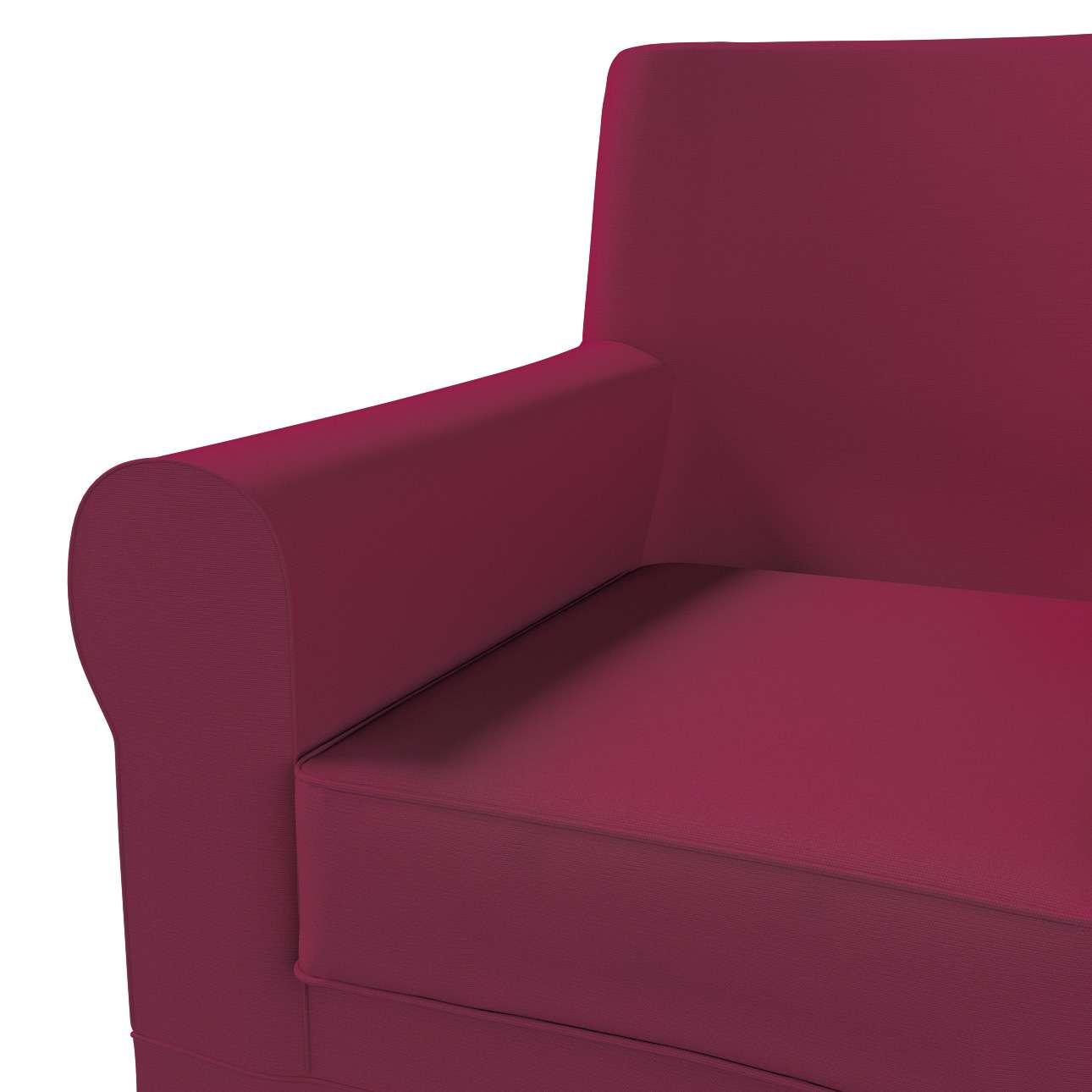 Pokrowiec na fotel Ektorp Jennylund w kolekcji Cotton Panama, tkanina: 702-32