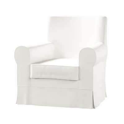 Ektorp Jennylund armchair cover 702-34 pure white Collection Panama Cotton