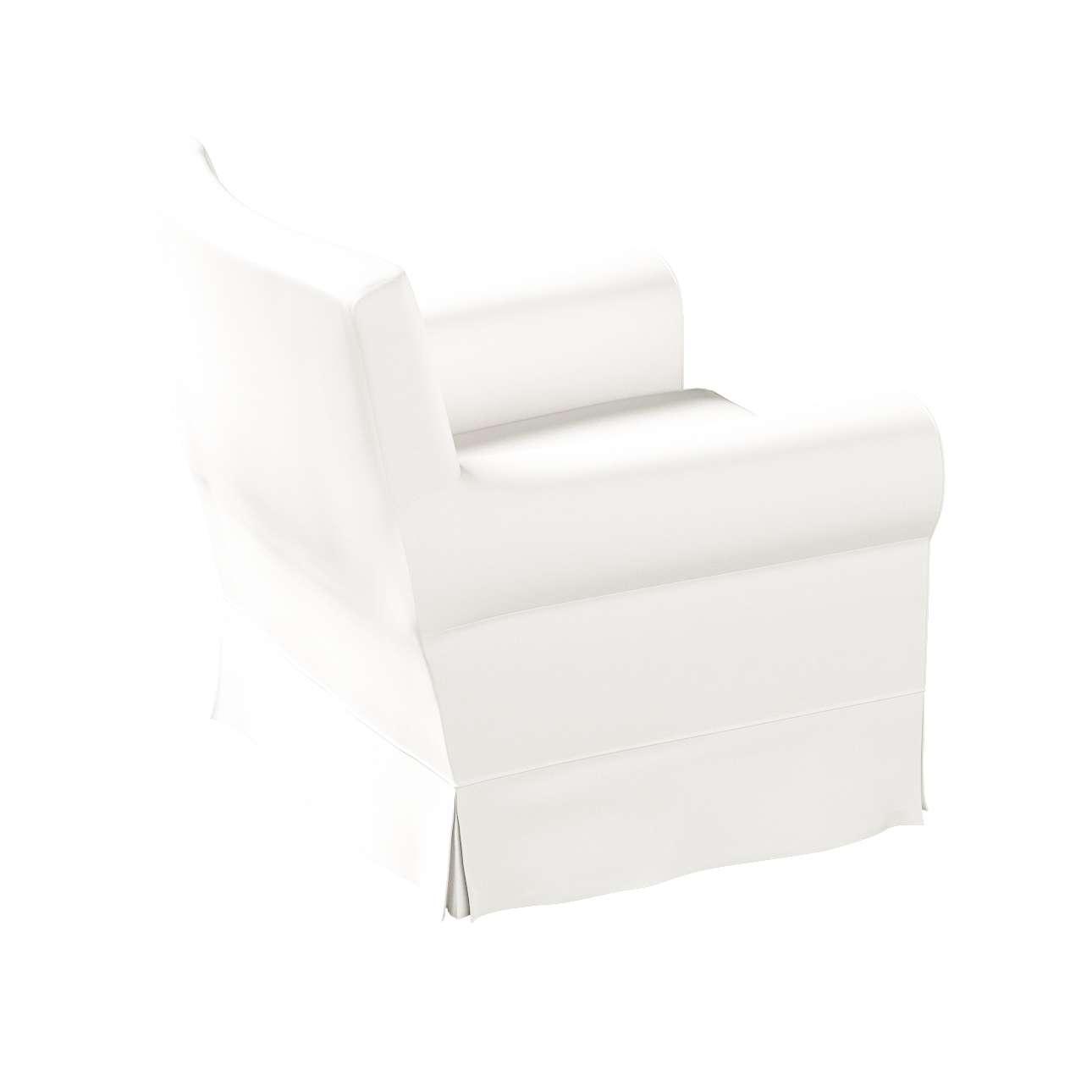 Pokrowiec na fotel Ektorp Jennylund w kolekcji Cotton Panama, tkanina: 702-34