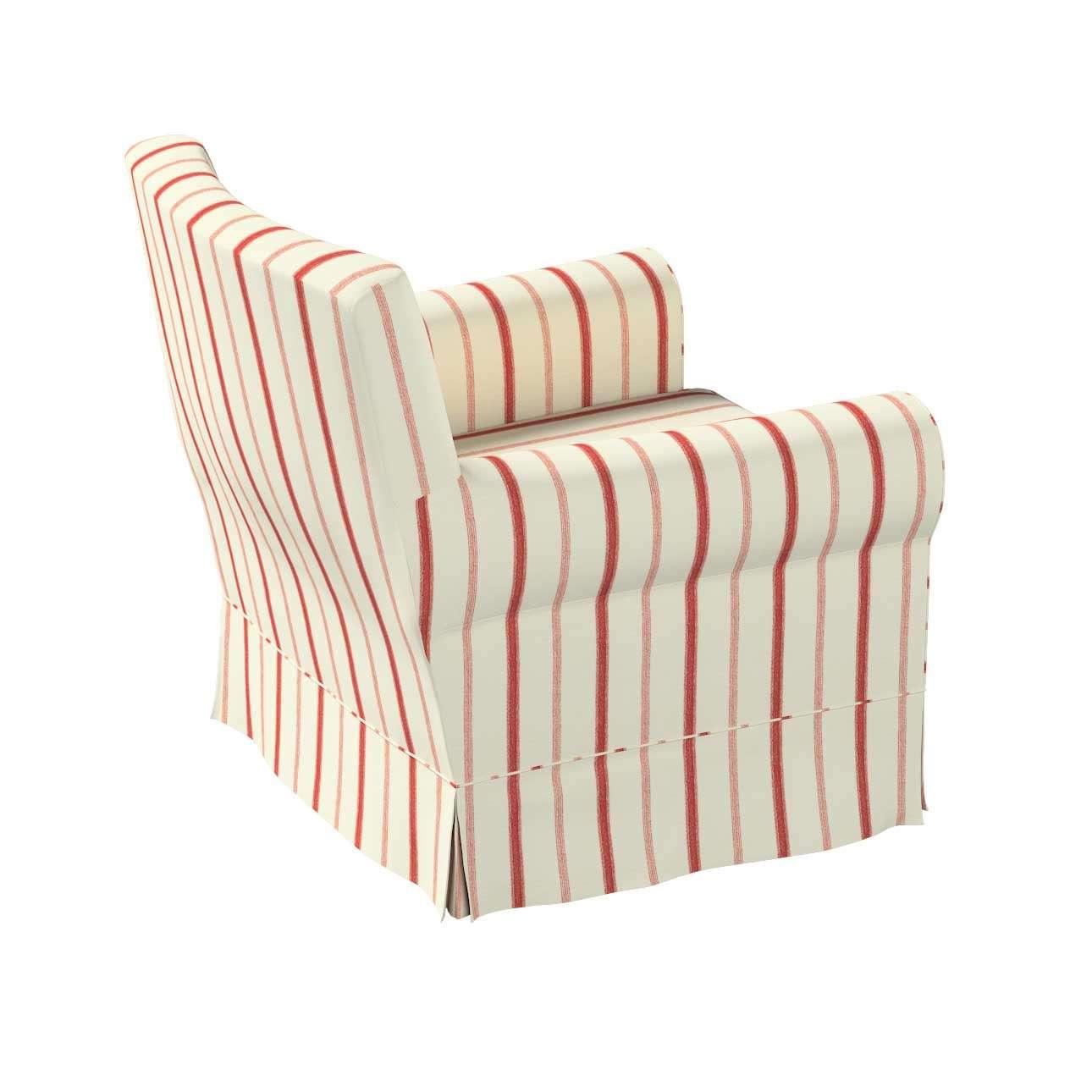 Pokrowiec na fotel Ektorp Jennylund w kolekcji Avinon, tkanina: 129-15