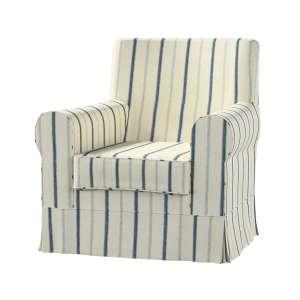Pokrowiec na fotel Ektorp Jennylund Fotel Ektorp Jennylund w kolekcji Avinon, tkanina: 129-66