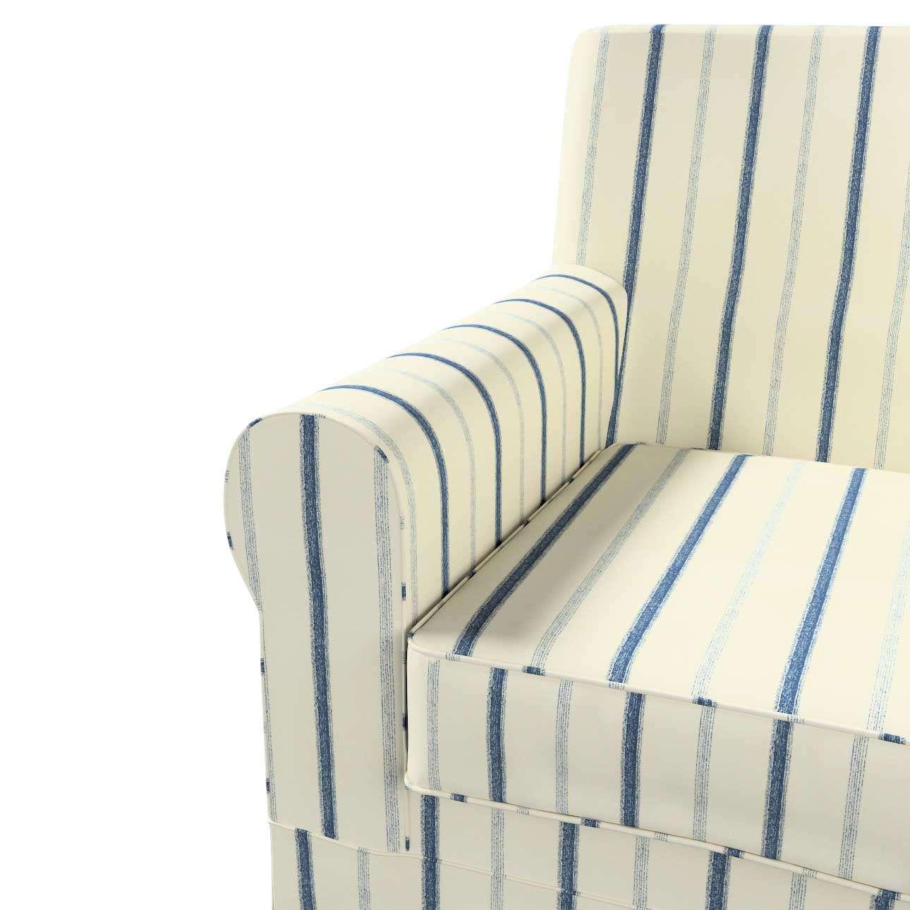 Pokrowiec na fotel Ektorp Jennylund w kolekcji Avinon, tkanina: 129-66