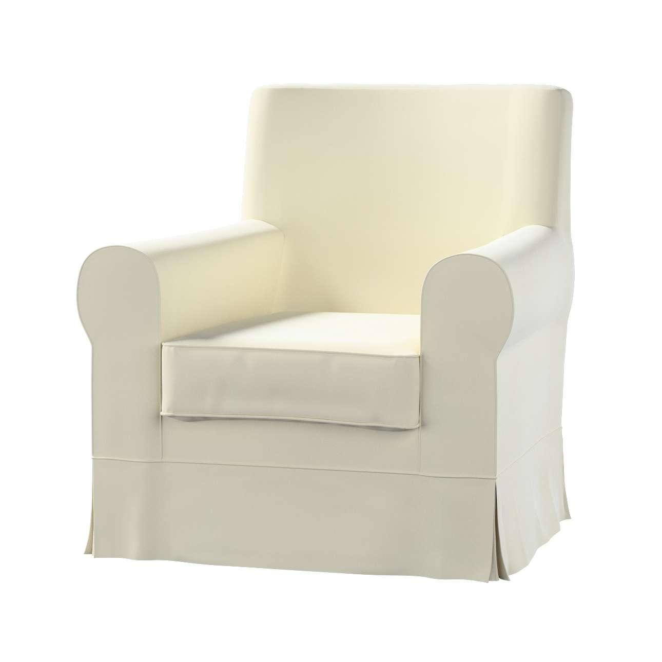 Pokrowiec na fotel Ektorp Jennylund w kolekcji Velvet, tkanina: 704-10