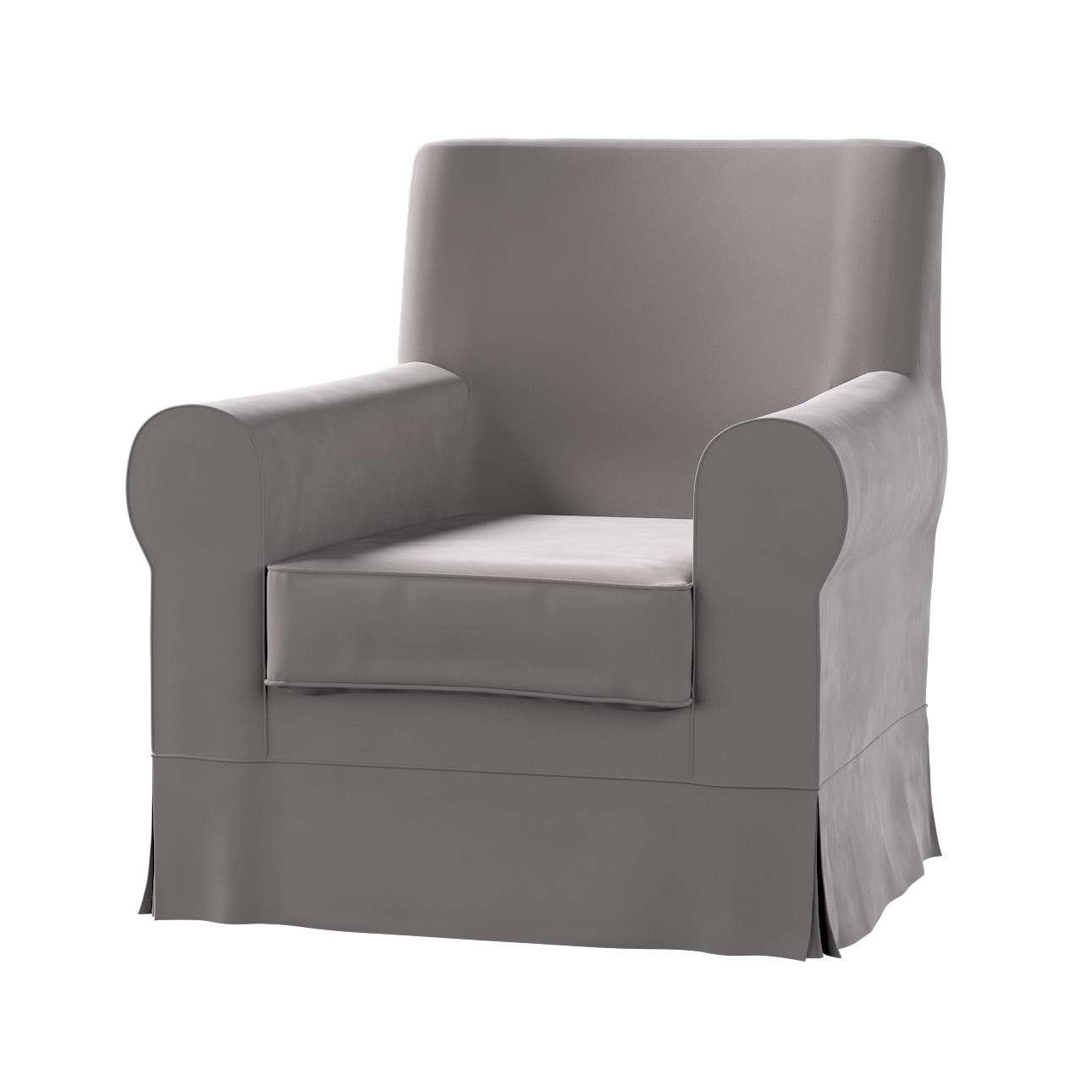 Pokrowiec na fotel Ektorp Jennylund w kolekcji Velvet, tkanina: 704-11