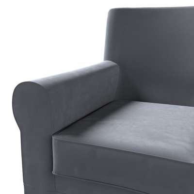 Pokrowiec na fotel Ektorp Jennylund w kolekcji Velvet, tkanina: 704-12