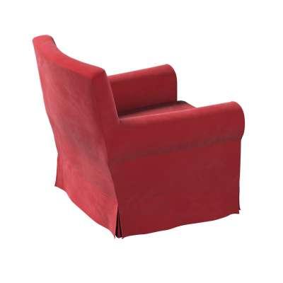 Ektorp Jennylund armchair cover 704-15 cherry red Collection Velvet