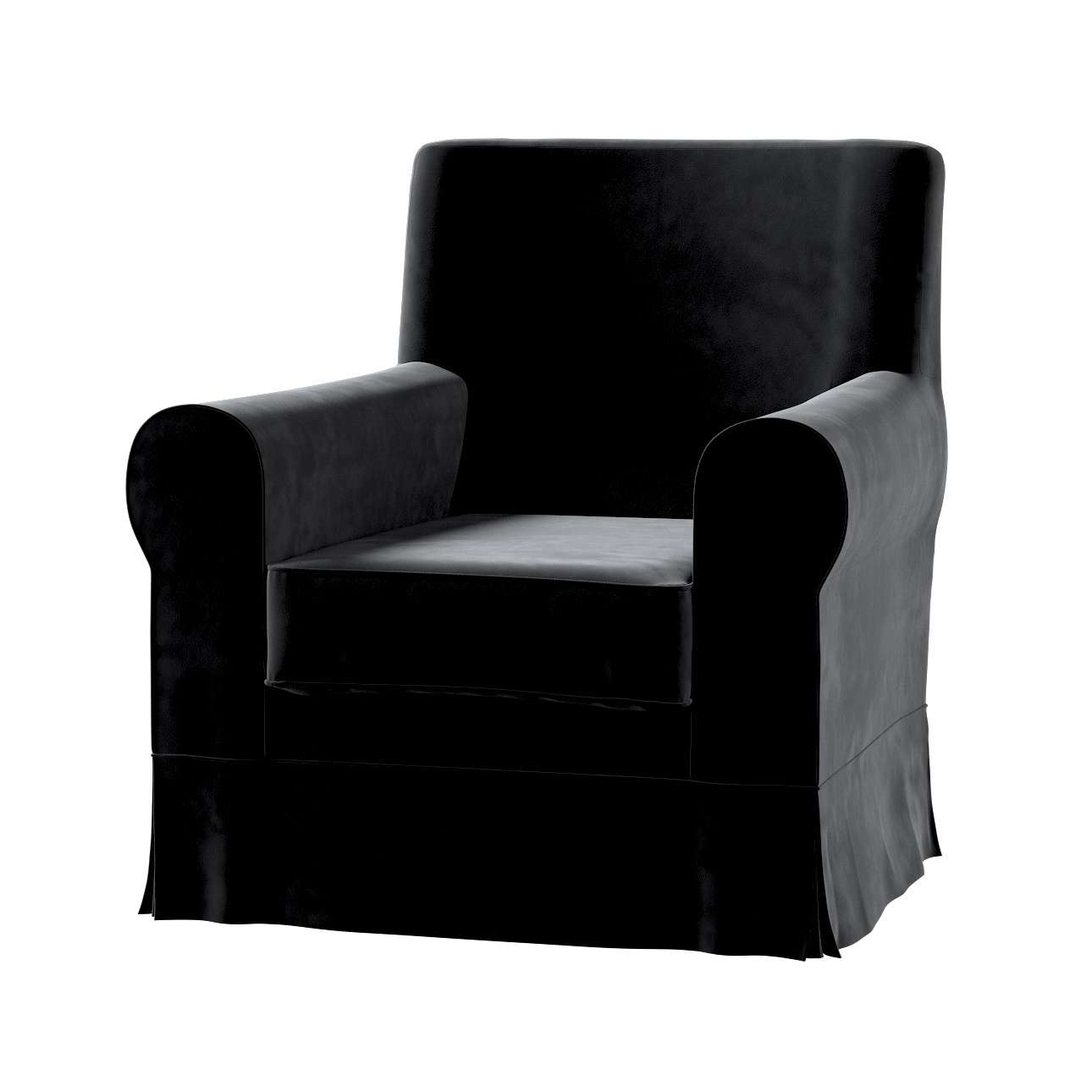 Pokrowiec na fotel Ektorp Jennylund w kolekcji Velvet, tkanina: 704-17