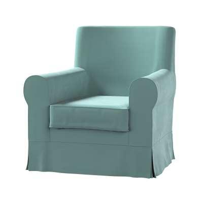 Pokrowiec na fotel Ektorp Jennylund w kolekcji Velvet, tkanina: 704-18