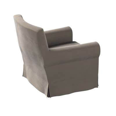 Pokrowiec na fotel Ektorp Jennylund w kolekcji Velvet, tkanina: 704-19