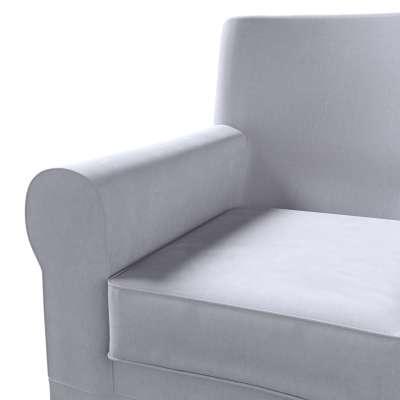 Pokrowiec na fotel Ektorp Jennylund w kolekcji Velvet, tkanina: 704-24