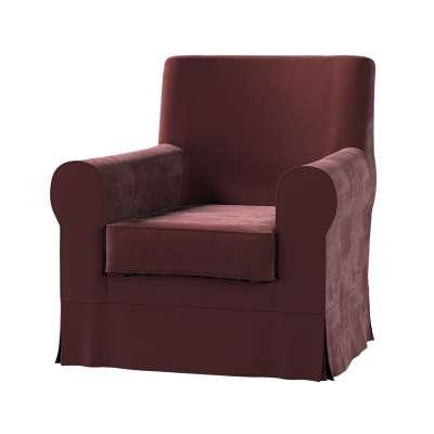 EKTORP JENNYLUND fotelio užvalkalas 704-26 bordo Kolekcija Velvetas/Aksomas
